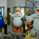عروسک تن پوش پنگوئن